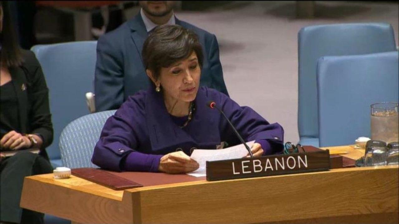 سفيرة لبنان في الأمم المتحدة أمل مدللي (أرشيف)
