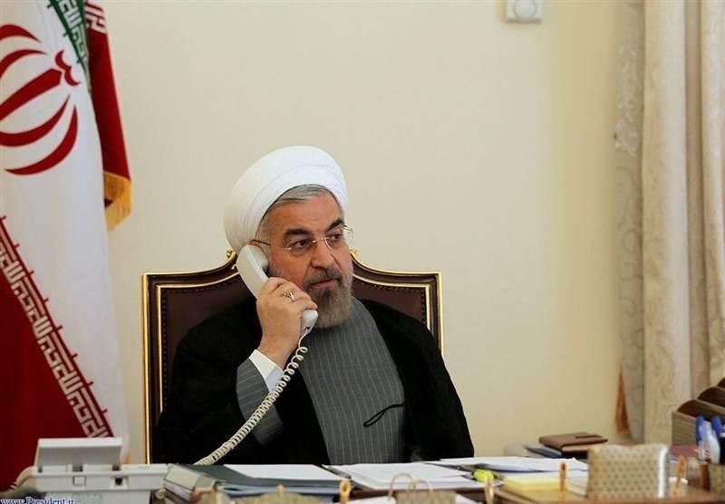 روحاني لعون: إيران ستقدم كل أنواع الدعم السريع للبنان