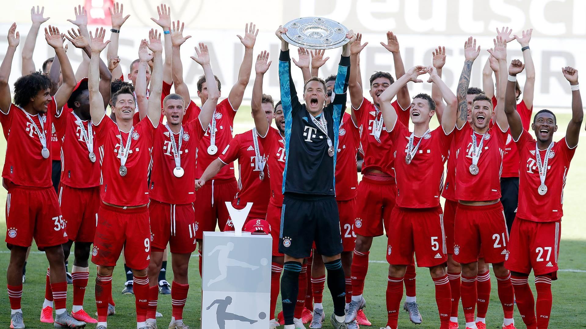تتويج بايرن ميونيخ بطلاً للدوري الألماني (أرشيف)