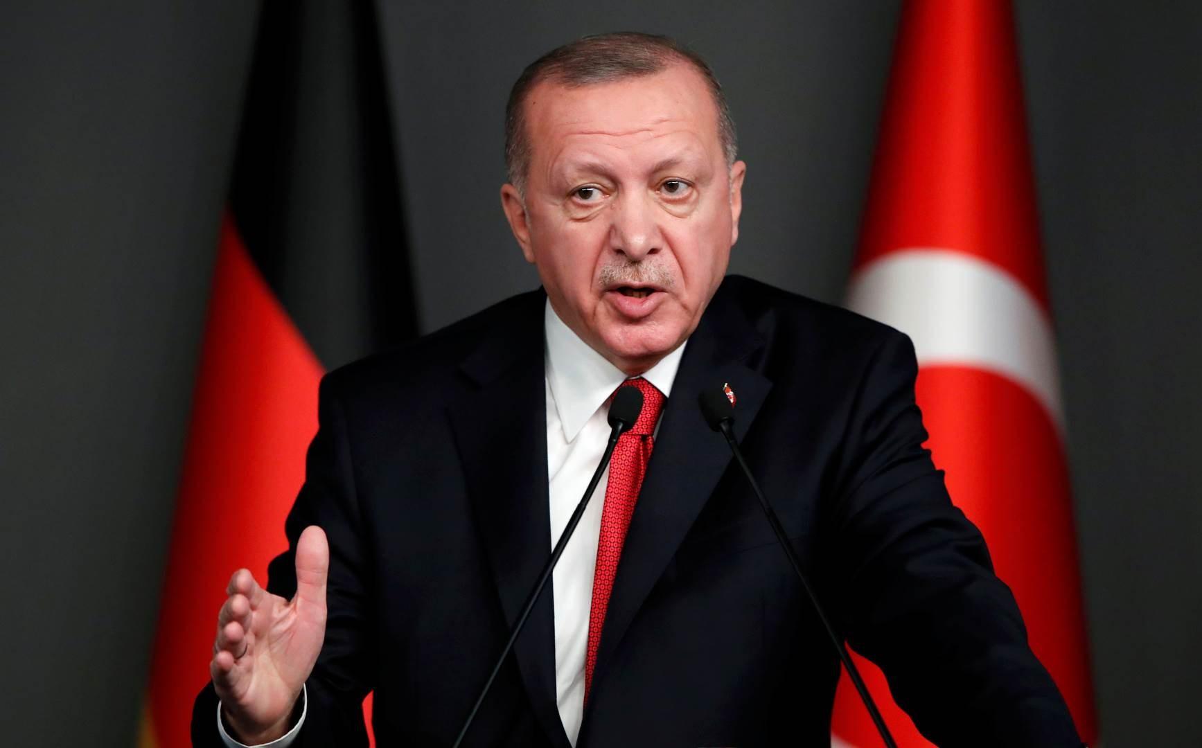 إردوغان: لسنا بحاجة للتباحث مع من ليس لديهم أي حقوق في مناطق الصلاحية البحرية