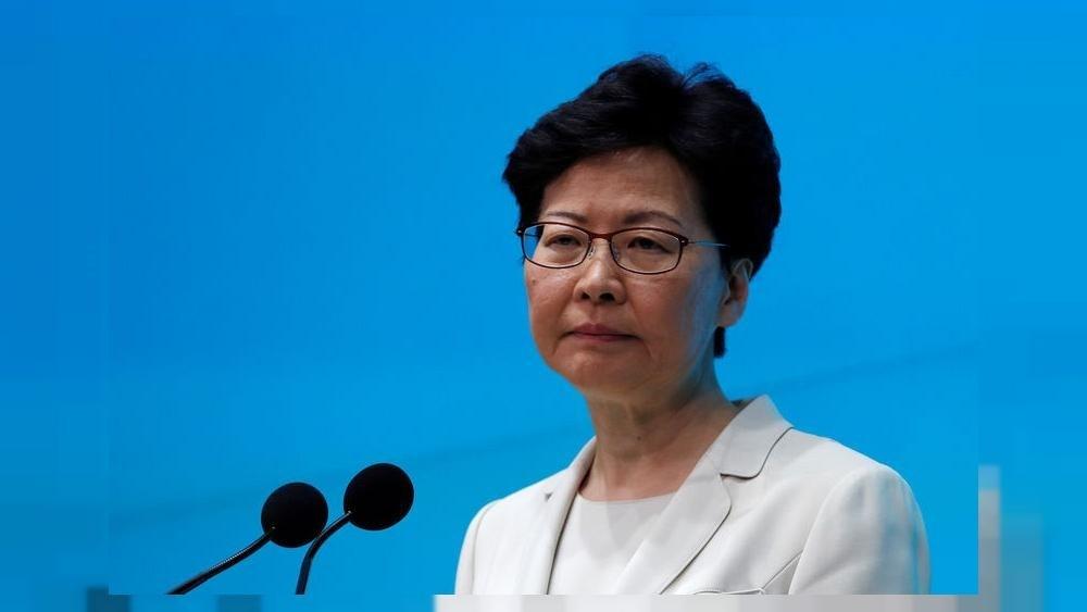 أميركا فرضت عقوبات على رئيسة السلطة التنفيذية في هونغ كونغ