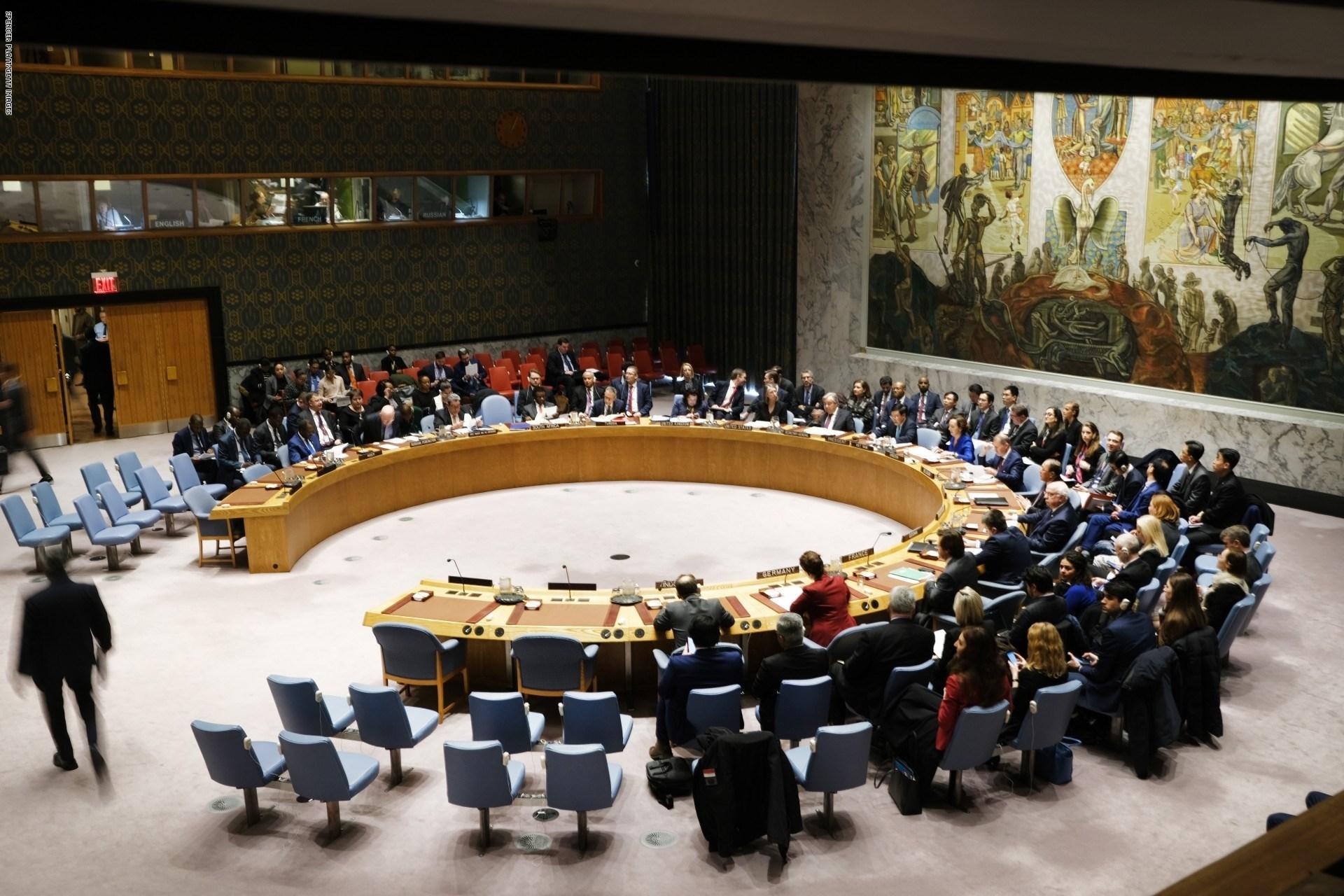 مجلس الأمن يجتمع لبحث التطورات في بيلاروسيا