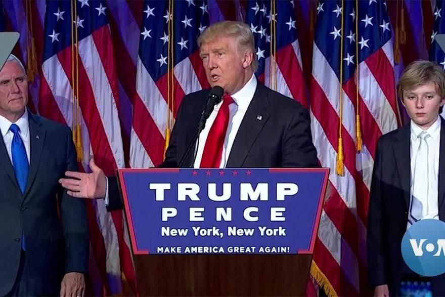 ترامب: لن نرضخ للعصابات اليسارية.. وبايدن يستخدم خطاب المافيا