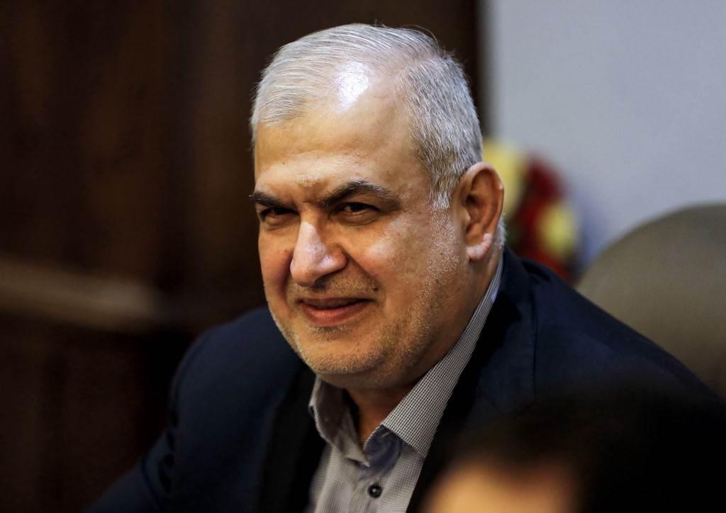 رئيس كتلة الوفاء للمقاومة في البرلمان اللبناني محمد رعد (أ ف ب).