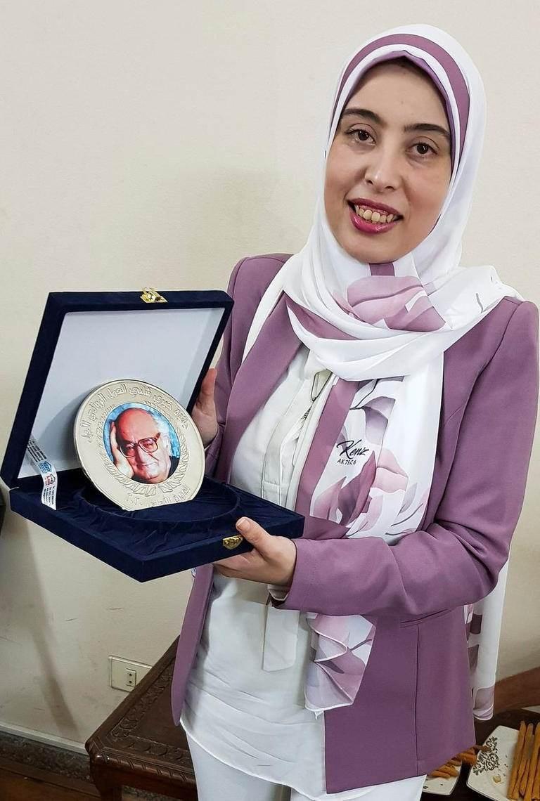 الكاتبة رانيا اللبودي