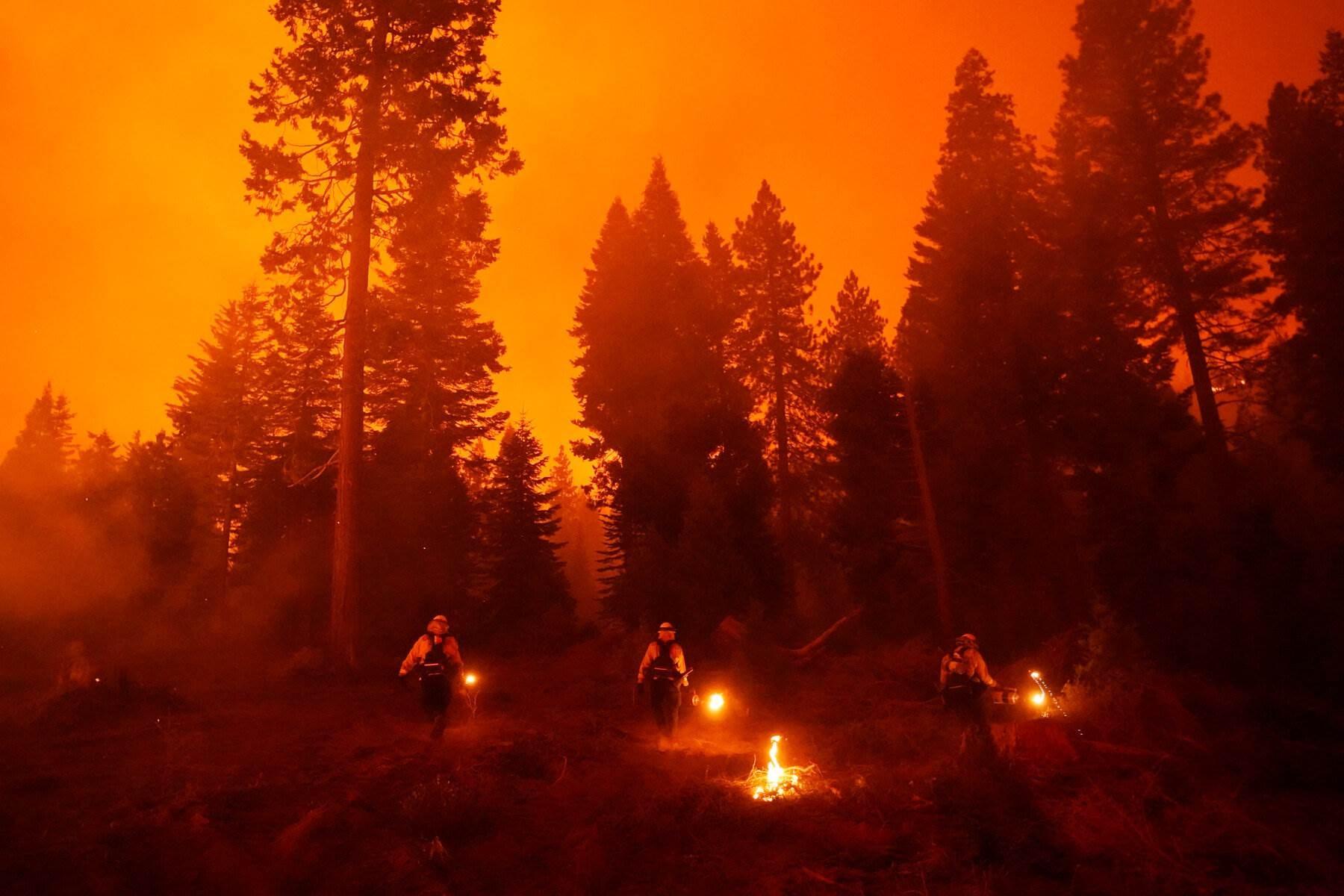 مقتل سبعة على الأقل وحرائق الغابات تستعر في الغرب الأميركي