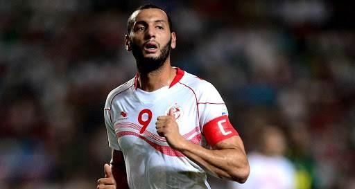 ياسين الشيخاوي مع منتخب تونس (أرشيف)