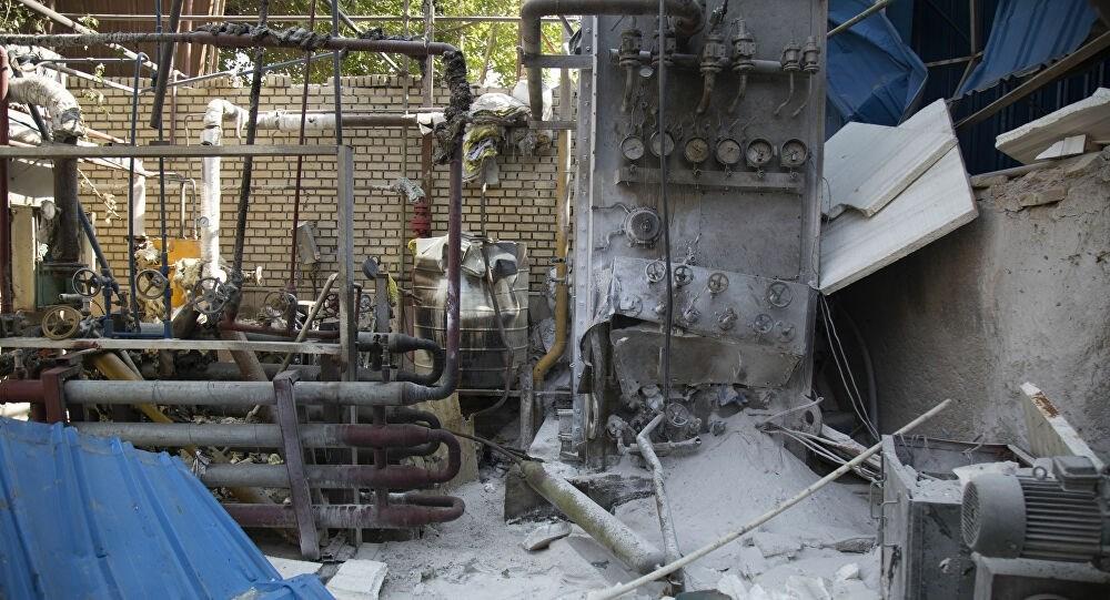 انفجار في مصنع للبطاريات