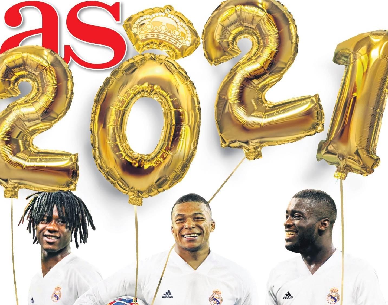 اللاعبون الثلاثة على غلاف صحيفة