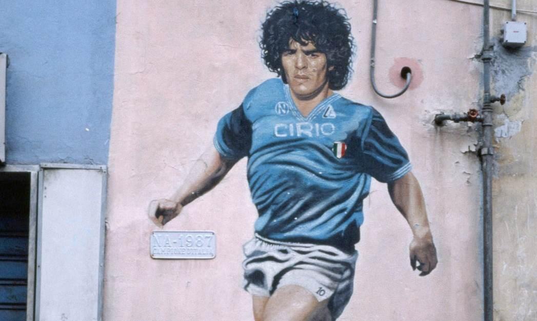 ما أجمل صور مارادونا على جدران مدينة الفقراء نابولي