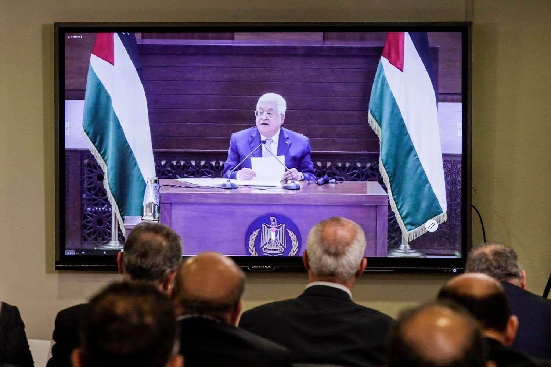 كلمة الرئيس الفلسطيني خلال اجتماع الأمناء العامين للفصائل الفلسطينية في بيروت