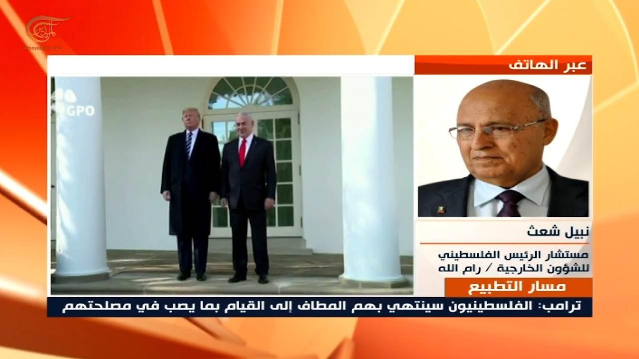مستشار الرئيس الفلسطيني للشؤون الخارجية نبيل شعث.