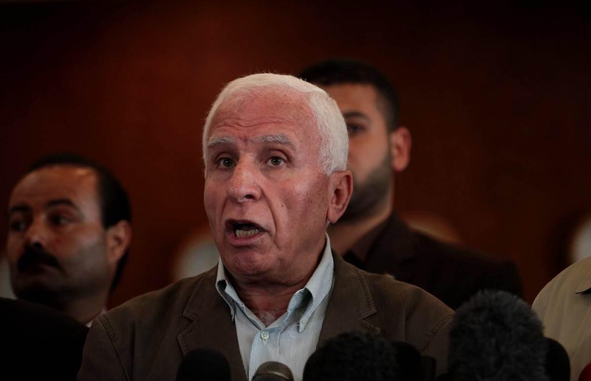 عضو اللجنة المركزية لحركة فتح عزام الأحمد.