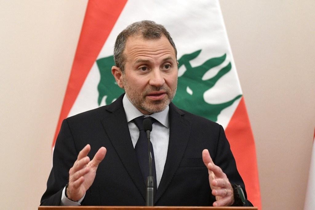 باسيل: قدمنا ورقة إصلاحية ونتمنى الحوار بشأنها مع كل الأطراف اللبنانيين (أ.ف.ب)