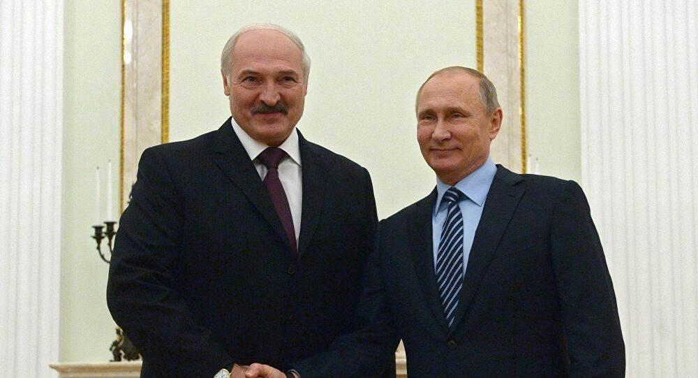 بوتين وعد نظيره البيلاروسي لوكاشينكو بدعمه اقتصادياً