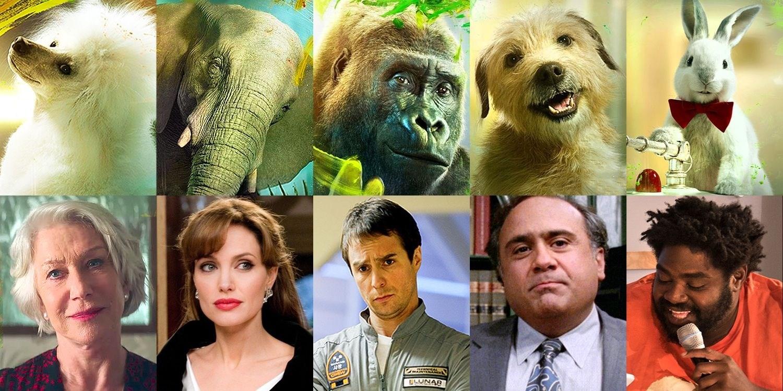 5 نجوم منحوا أصواتهم لـ 5 حيوانات في الفيلم