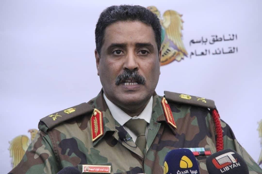 المسماري: الكتيبة 116 مشاة اشتبكت مع المجموعة الإرهابية في معركة استمرت سبع ساعات متواصلة