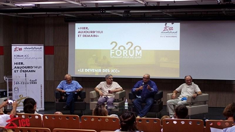 أركان المهرجان خلال المؤتمر الصحفي