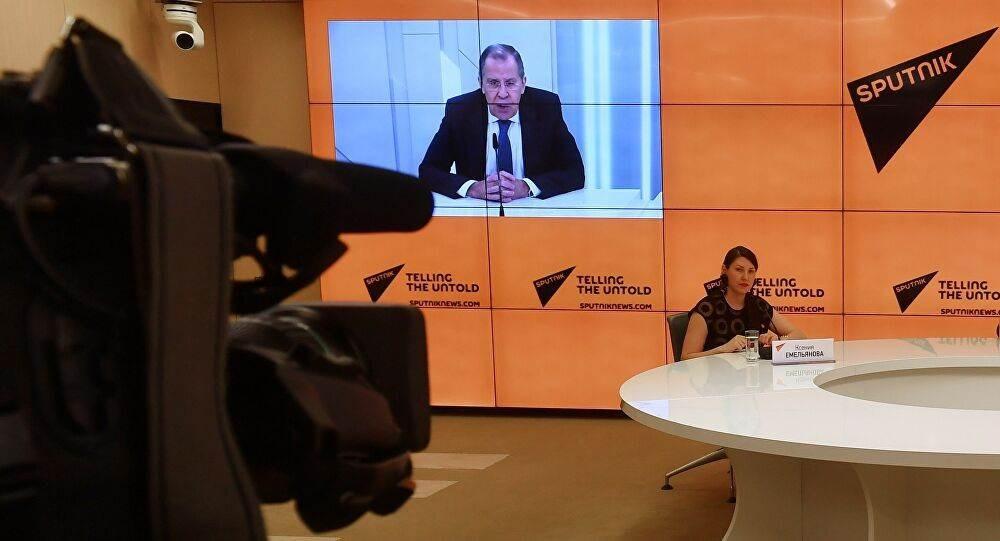 وزير الخارجية الروسي سيرغي لافروف في حوار خاص مع وكالة