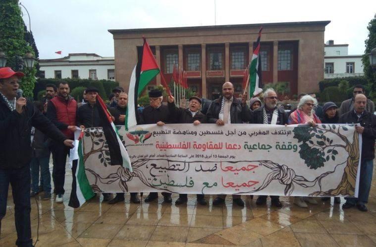 الائتلافات و الهيئات المغربية المساندة للكفاح الفلسطيني.