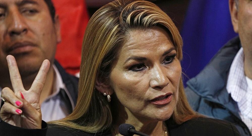 رئيسة بوليفيا المؤقتة