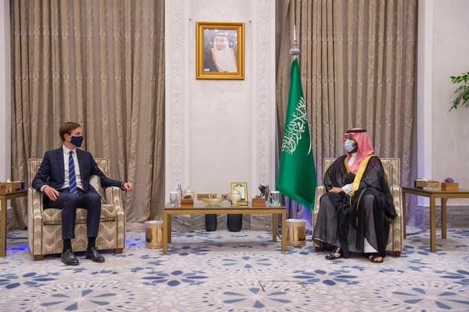 ولي العهد السعودي مع جاريد كوشنر