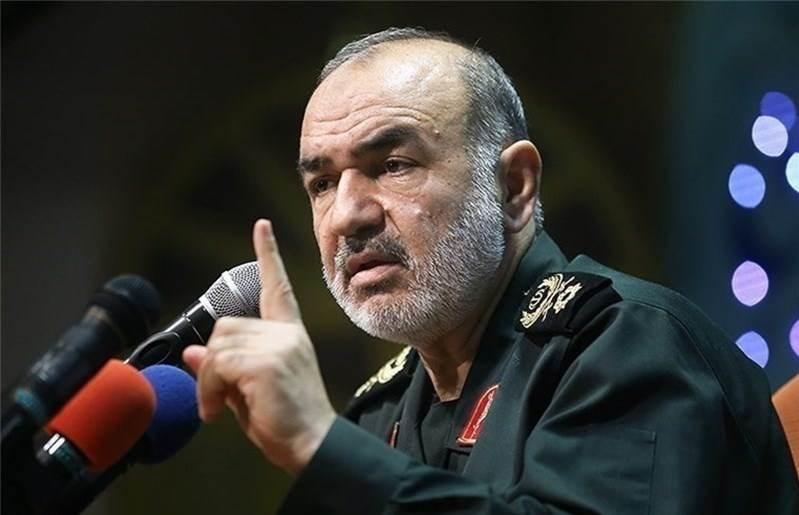 سلامي: نحن قادرون على تدمير والسيطرة على جميع مصالح وقواعد أميركا في المنطقة، نحن قادرون على كنسهم من المنطقة
