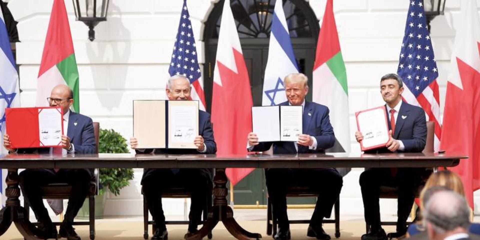 المشاريع المشتركة ما بين الكيان الصهيوني وكيانات الخليج واتفاقات التطبيع ما هي إلا أضغاث أحلام