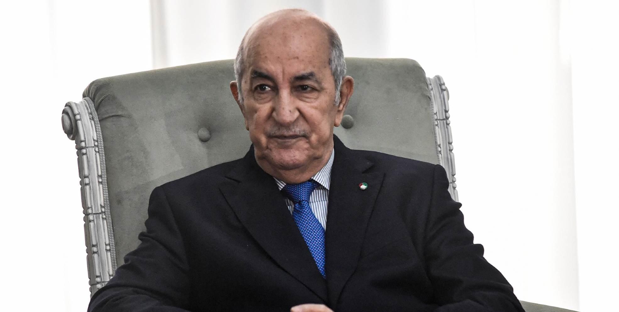أكد تبون على أن القضية الفلسطينية هي مبدئية بالنسبة للجزائر