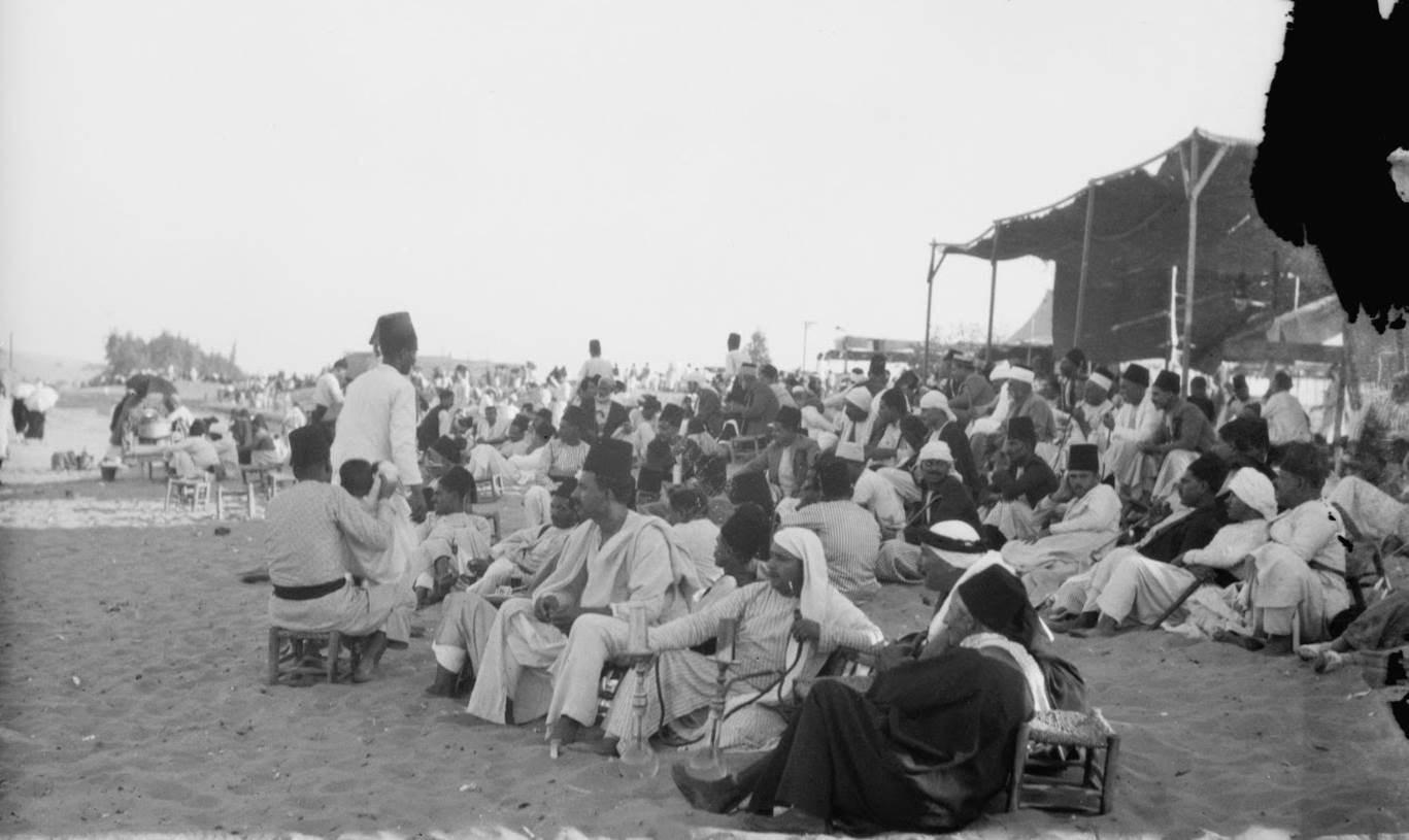 موسم النبي روبين في فلسطين 1935