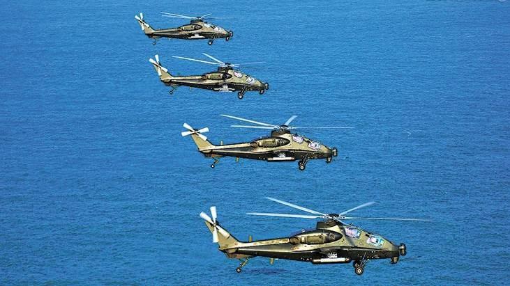 صورة نشرتها وزارة الدفاع الصينيّة من المناورات العسكريّة قرب تايوان في سبتبمر 2020