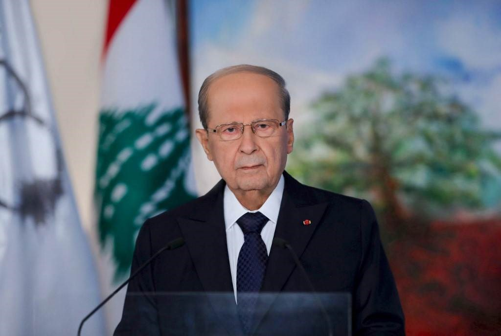الرئيس اللبناني ميشال عون (أ ف ب).