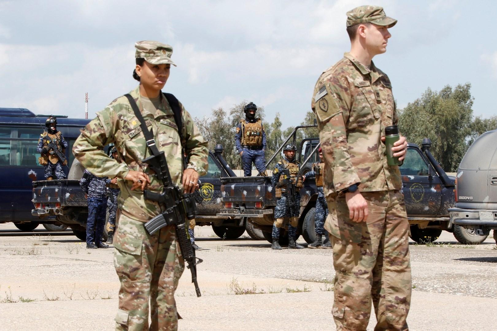 انفجار عبوة ناسفة برتل للتحالف الدولي في العراق