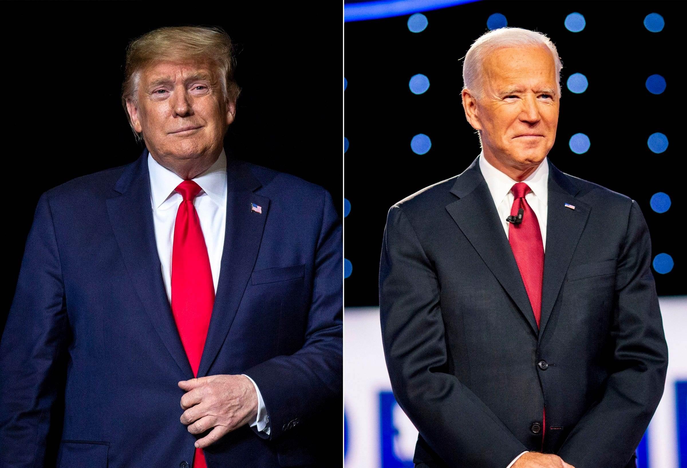 تحديد مواضيع المناظرة الاولى بين ترامب وبايدن