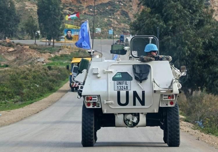 قوات اليونفيل على الحدود مع لبنان (صورة أرشيفية).