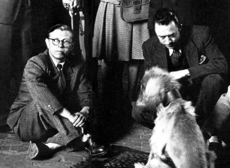 جان بول سارتر والبير كامو
