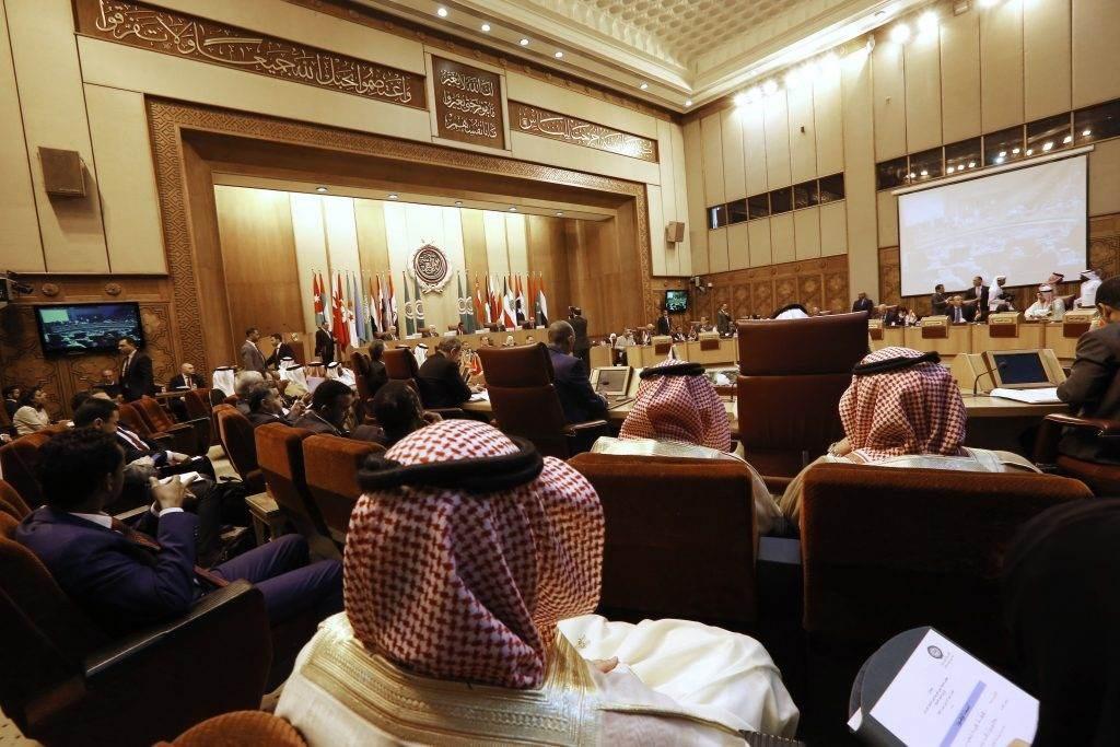 اجتماع لوزراء خارجية الدول العربية في القاهرة عام 2019 (أ ف ب).