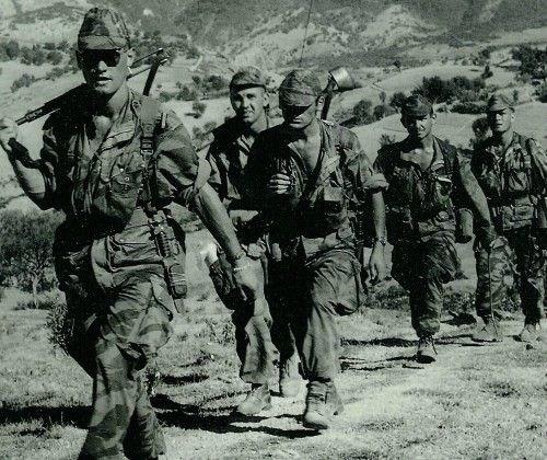 جنود فرنسيين الحرب التحريرية الجزائرية