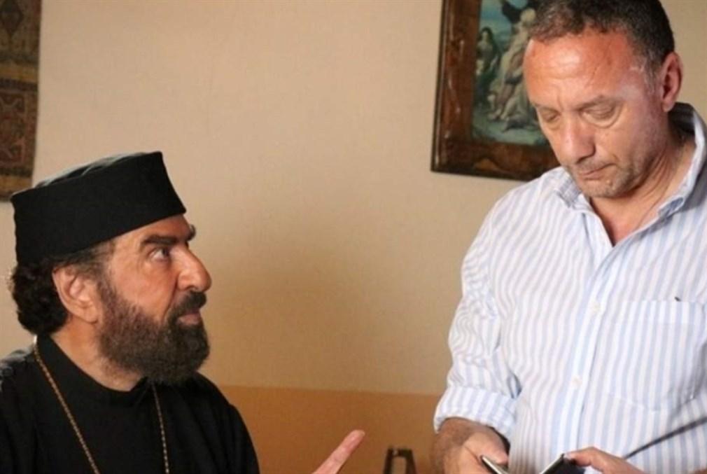 المخرج باسل الخطيب والممثل رشيد عساف