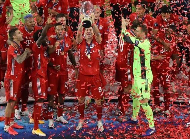 توِّج بايرن بلقب كأس السوبر الأوروبية