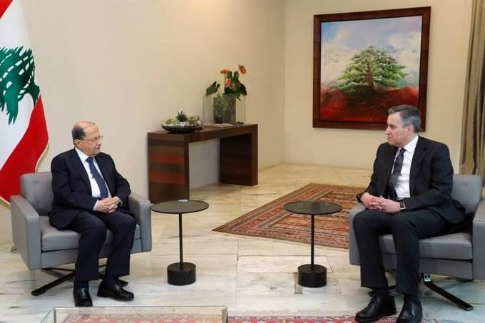 رئيس الجمهورية اللبنانية يجتمع مع رئيس الحكومة المكلف