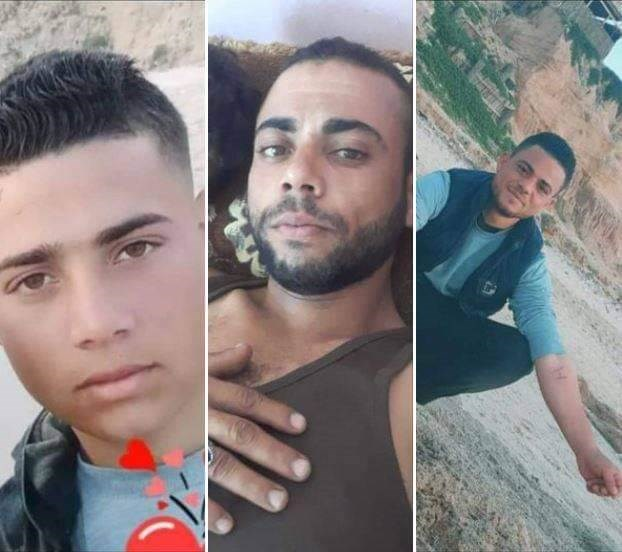 الصيادون الثلاث الذين استهدفتهم البحرية المصرية