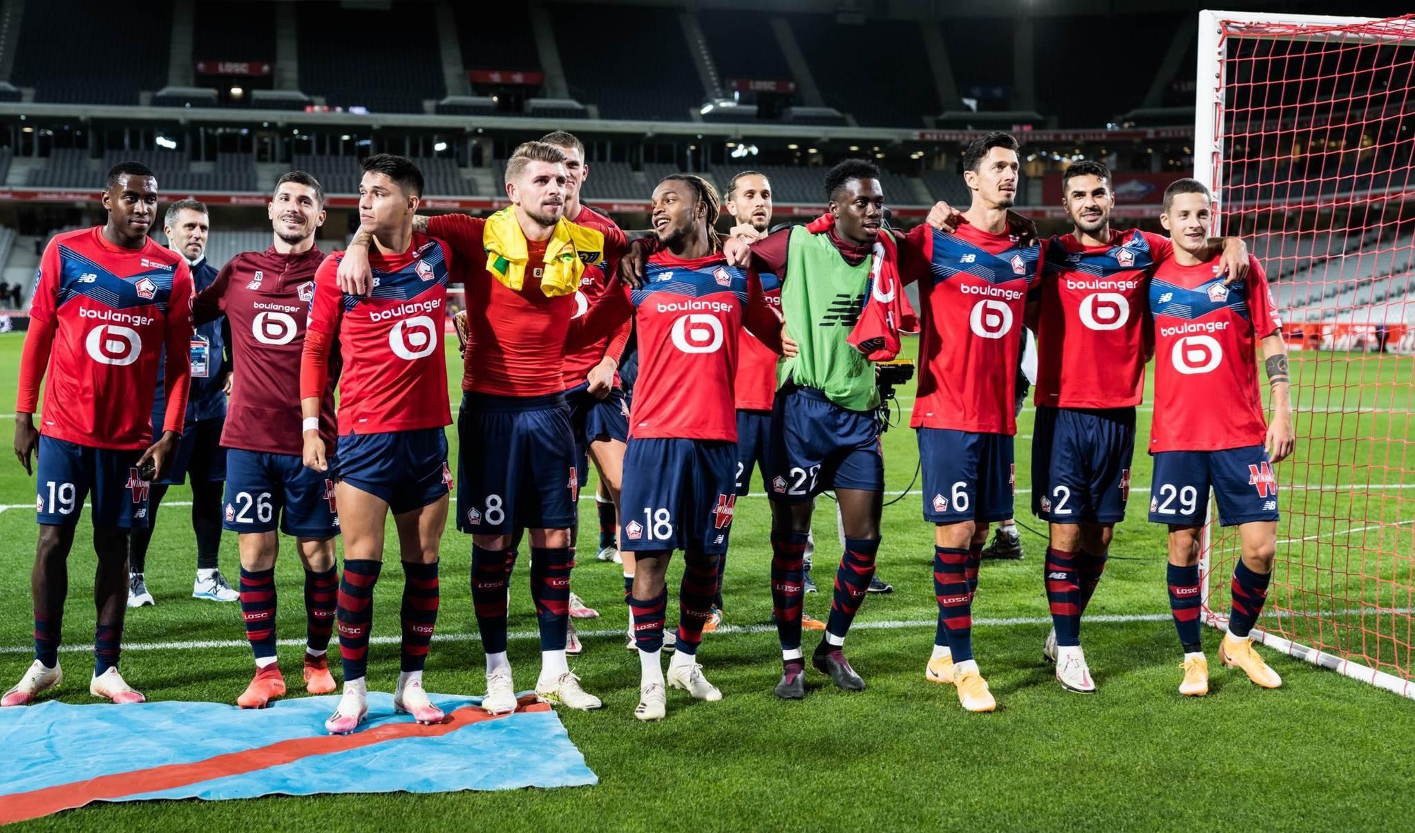 الدوري الفرنسي: ليل ينتصر ويتصدر مؤقتاً