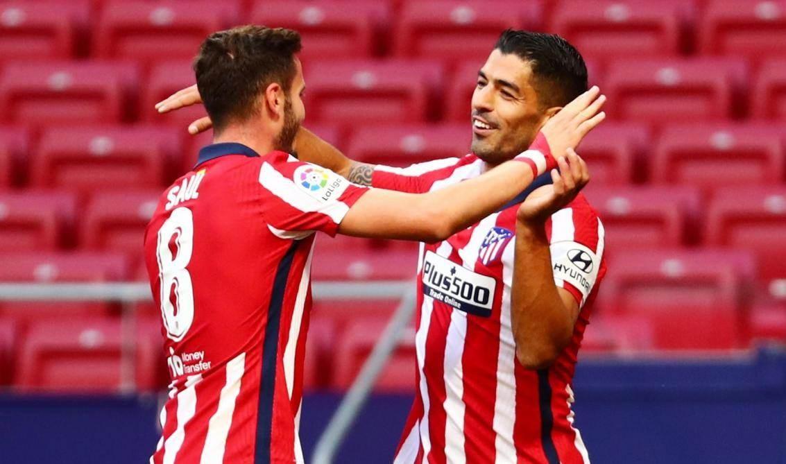 سجّل سواريز هدفين في مباراته الأولى مع أتلتيكو مدريد