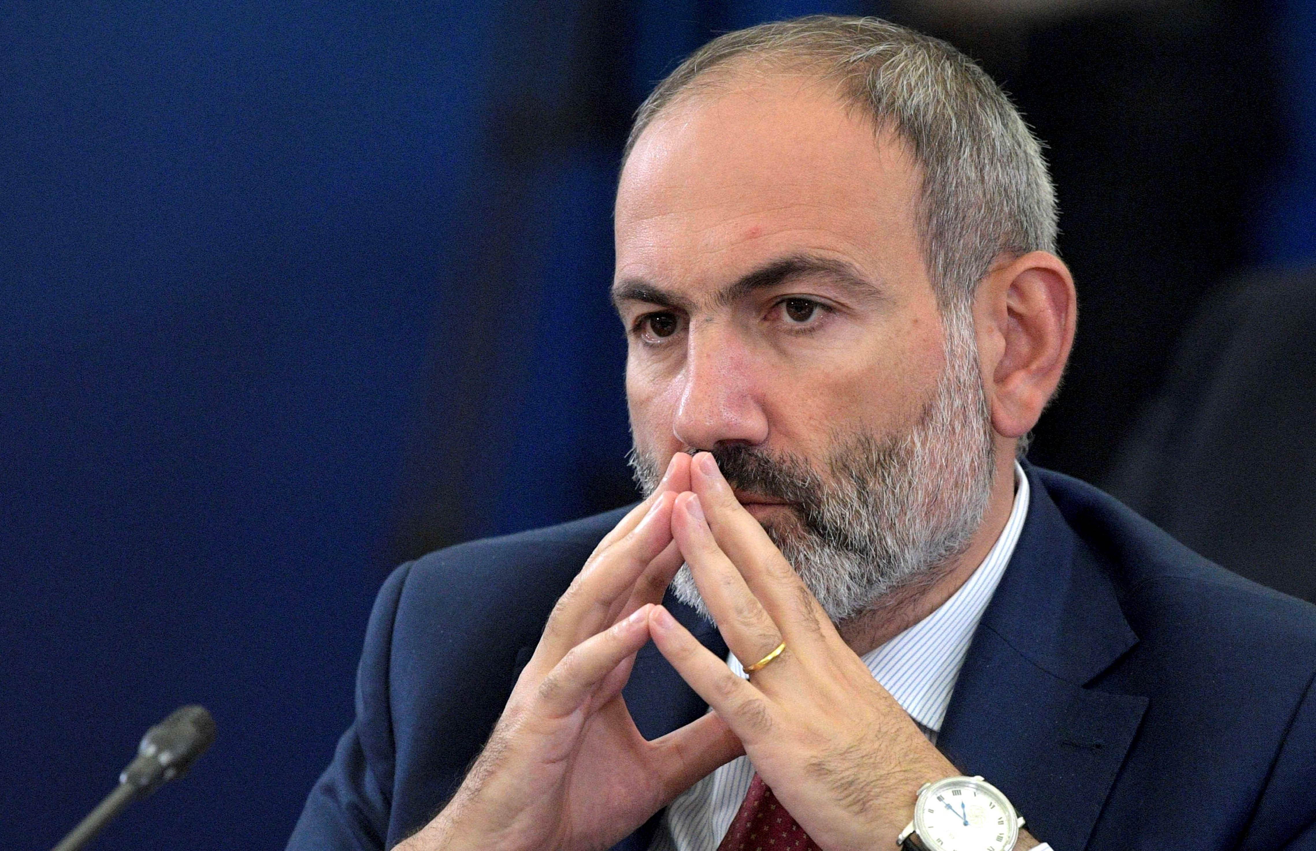 رئيس الوزراء الأرميني نيكول باشينيان.