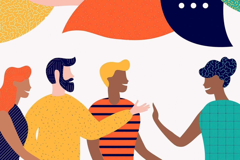 دور السلطة في التفاعل اللغوي