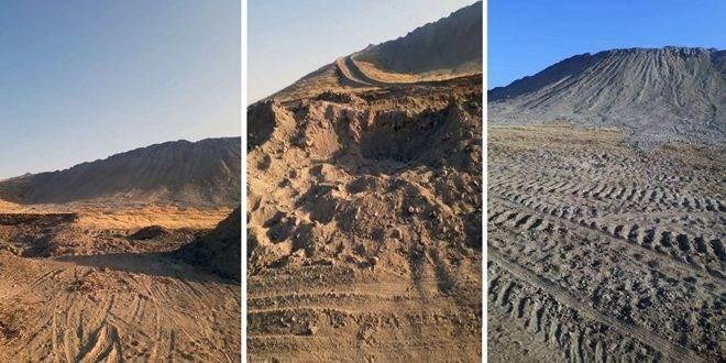 سانا: تركيا تدمر تلالاً أثرية في حوض البليخ بالرقة