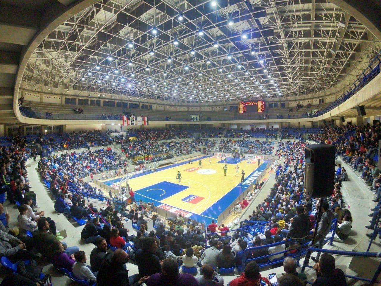 مباراة للمنتخب اللبناني لكرة السلة (إسماعيل عبود)