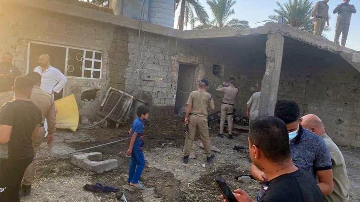 استشهاد خمسة عراقيين من عائلة واحدة بسقوط صاروخ