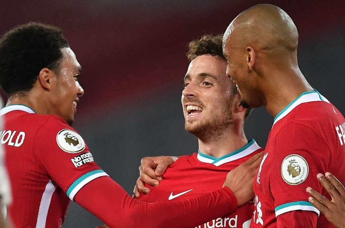 سجّل غوتا هدفه الأول مع ليفربول